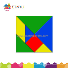 2015 Hot Sale Top Popular Plastic Children Tangram Puzzle Toys