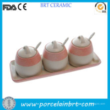 Convenient Coffee Tea Sugar Canister Set with Spoon