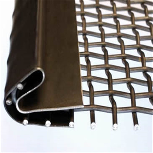 Screen mesh with hooks Strips