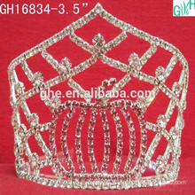 beautiful diamond Crown holiday party tiara