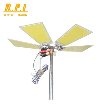 360 LED Licht Snara Licht Hohe Helligkeit Outdoor Angelrute COB Led Licht multifunktionale LED-Licht für Camping