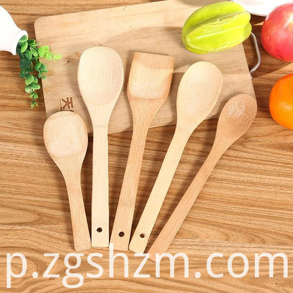 Bamboo Spoon for Cooking Soup