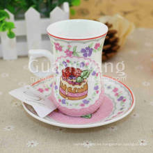 Odm OEM ODM Service Disponible New Bone China Hello Kitty Cups