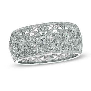 925 Серебряные браслеты Браслеты Ювелирные изделия с CZ для свадебных украшений