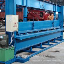 Máquina de dobra do painel do metal de 4m