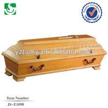 vente en gros artisanat nouveau cercueil hickory