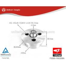 Детали двигателя YuChai Вал шестерни холостого хода YC4F F3000-1002306A