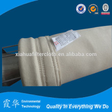 High temperature resisting aramid filter bag