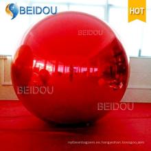 Mini espejo decorativo LED PVC Globo Disco bolas inflables del espejo