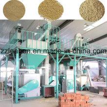 Línea de producción de pellets de alimentación de paja de diseño profesional