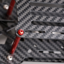 5.0x250x400mm custom cutting machine carbon fiber sheet