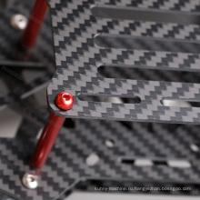 Изготовленный на заказ лист волокна углерода 5.0x250x400mm изготовленный на заказ
