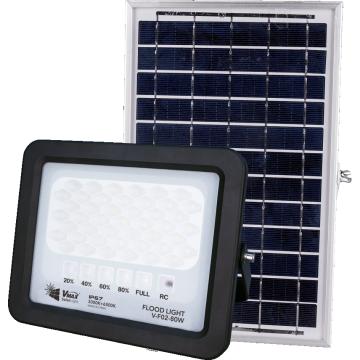 solar led flood light with sensor