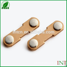 peças de interruptor elétrico relé bimetálico de agni rebites