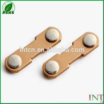 electric relay switch parts agni bimetal rivets