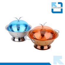 Hot Sale Porte-fruits en métal et légumes en acier inoxydable Fruit Basket