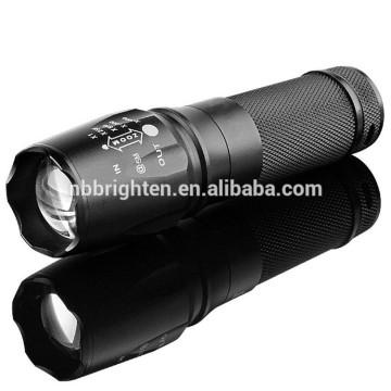 Factory Outlet Outdoor Super Bright 26650 batterie ou 18650 batterie opérée en aluminium 10w Cree led x800 lampe de poche
