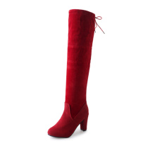 Wanita Aplush Suede Over-the-knee High Heel Boots