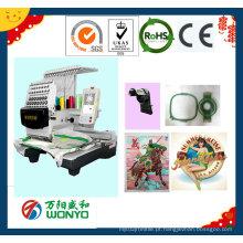 Máquina do bordado do tampão / máquina bordado do logotipo / máquina bordado do bordado / máquina Wy1501CS do bordado do t-shirt