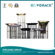Ecograce Silikon-Industrie-PPS-Tuch Staubfilter-Beutel-Käfig