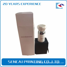 Paper Rectangle Perfume Box Sleeve Packaging