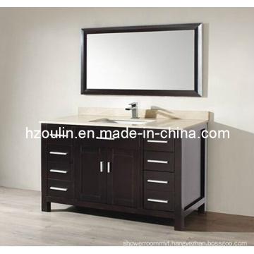 Express Marble Top Wooden Bathroom Vanity (BA-1125)