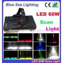 Дешевый 60w LED dj освещающий сканер