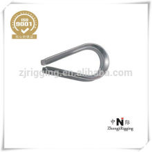 Galvanized DIN6899A Wire Rope Thimble