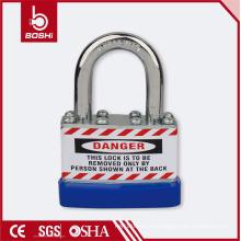Cadeado laminado de segurança BOSHI Anti-Rust Corrosion rígido BD-J45 com metal de alta resistência