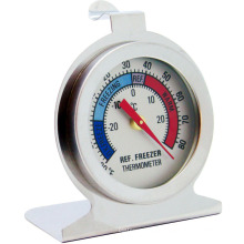 Bimetal Fridge Thermometer Stainless Steel