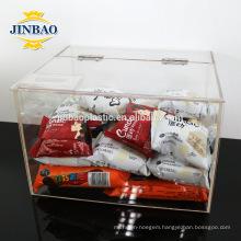 Jinbao clear acrylic box 2mm 3mm storage custom size