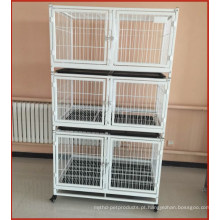 Estoque de gaiolas de gatos para animais de estimação com rodas e bandejas Malásia