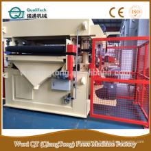 HPL Schleifmaschine 1300mm / zwei Kettenschleifer für HPL Polieren