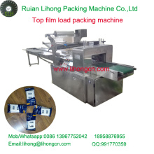 Gzb-450A alta velocidade travesseiro-tipo Wall Switch Top Film Wrapping Machine