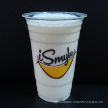 Plastic Cups for Cold Beverage with Lids