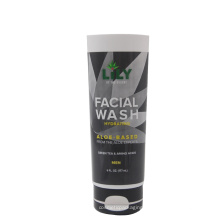 Diameter 50mm men's facial wash tube with new style flip top cap