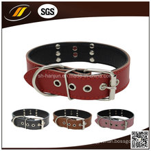 New Arrival Fashionable Adjustable Leather Pet Collar
