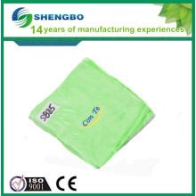 Tissu de nettoyage microfibre à écran tactile 30 * 30cm