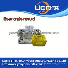 Household turnover foldable crate mould Cheap price