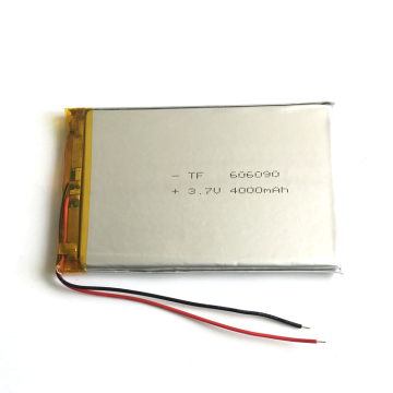 4000mah 3.7V lithium polymer Rechargeable Battery