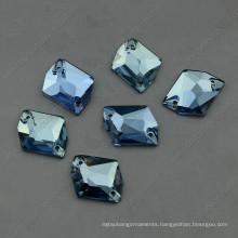 Light Sapphier Dysmorphism Glass Stone for Garment Sewing (DZ-3070)