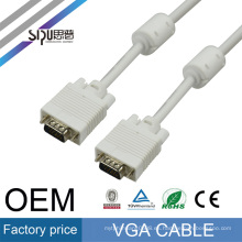 SIPU 5/10 FT Blue 15PIN VGA / SVGA D-Sub Macho a macho Cable Monitor M / M Nuevo para PC TV
