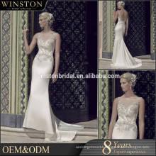 New arrival product wholesale Beautiful Fashion winter wedding dresses