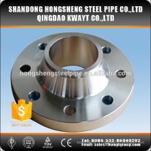 Bride de réduction ISO certifiée en acier inoxydable