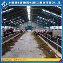 Structure en acier préfabriquée Fast Build Cow Farm House