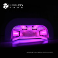 660nm(IR)+365nm(UV)+405nm(uv)Three types of leds light hand skin whitening uvled nail lamp