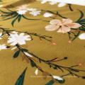 Rayon 45S трафаретная печать цветочный дизайн женское платье