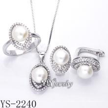 A venda directa da venda da forma da jóia da jóia ajustou a prata 925 (YS-2240)