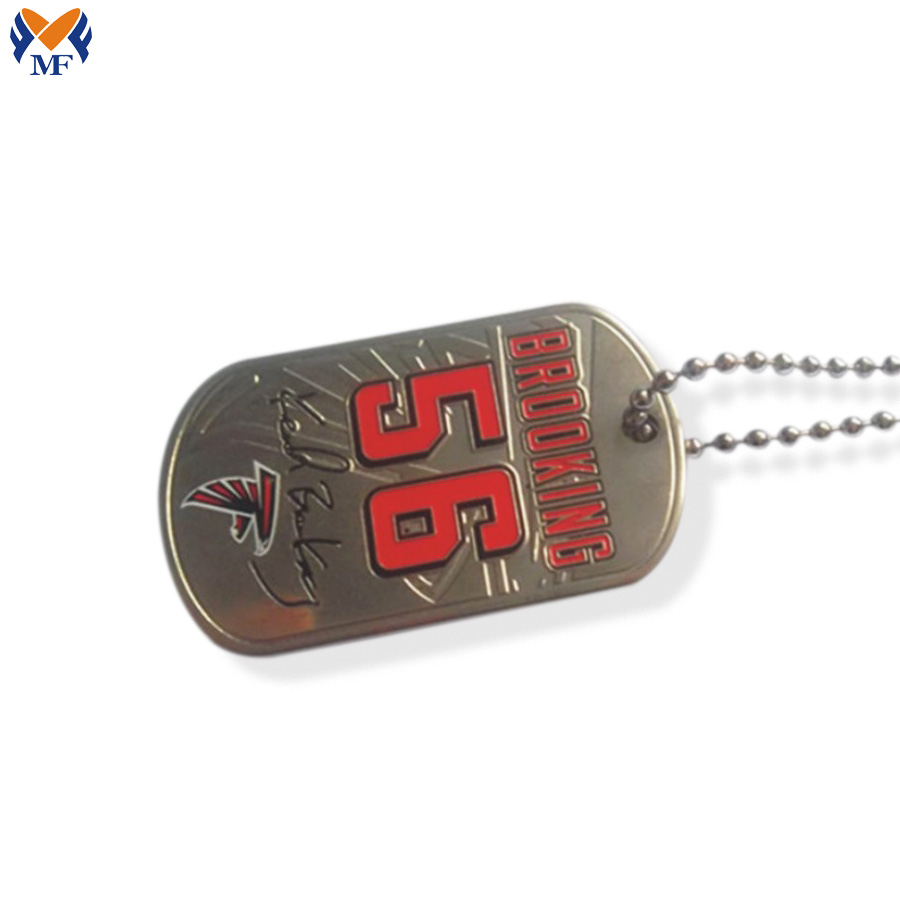 Enamel Dog Tag