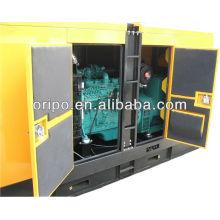 60Hz generador diesel silencioso 100kva / 80kw con motor Dongfeng Cummins